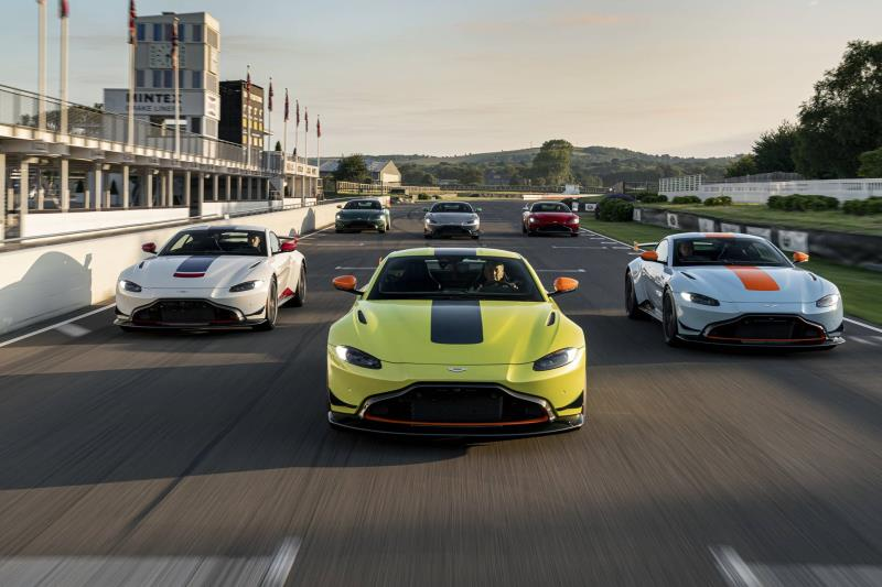 Festival Of Speed Celebrates Aston Martin S Racing History Conceptcarz Com