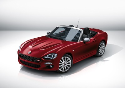 FIAT 124 SPIDER ANNIVERSARY EDITION IS SOLD OUT