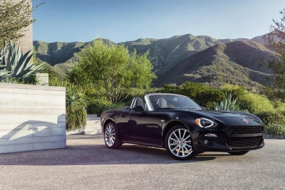 FIAT Announces Pricing for All-new 2017 124 Spider