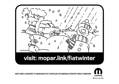 FIAT CHRYSLER AUTOMOBILES UK ANNOUNCES WINTER CHECK CAMPAIGNS WITH FUN VIDEO