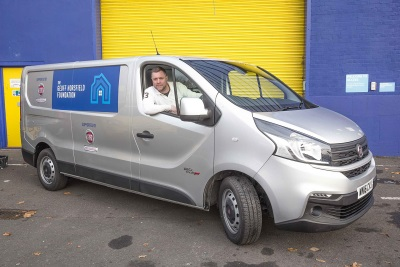 FIAT PROFESSIONAL DONATES NEW TALENTO TO EX-FOOTBALLER'S CHARITY