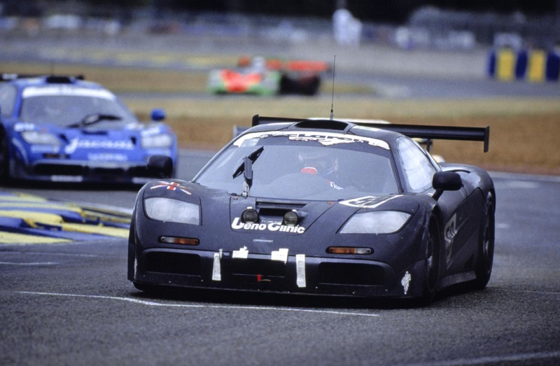 famous five mclaren f1 gtr finishers to be reunited at le ma