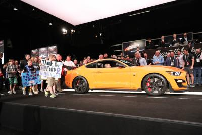 First 2020 Mustang Shelby GT500 Auctioned for $1.1 Million to Help Juvenile Diabetes Research Foundation Cure Kids with Diabetes