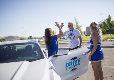 Ford Drive 4Ur School Celebrates 10 Years Of Giving With Friendly Slot Car Competition