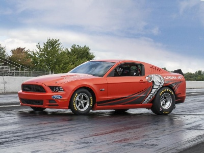 Ford To Auction Prototype Of The 2014 Mustang Cobra Jet For National Multiple Sclerosis Society At Barrett-Jackson