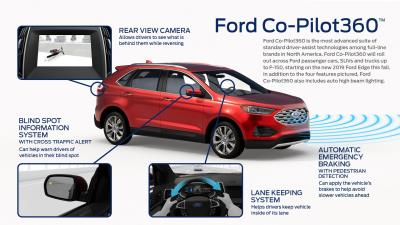 Ford Co-Pilot360™: Most Advanced Suite Of Standard Driver-Assist Technologies Includes Automatic Emergency Braking