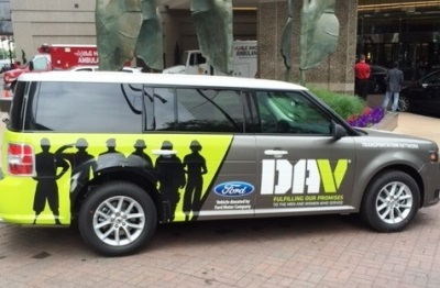 Ford donates vehicles to dav strengthens efforts to for Ford motor company service department