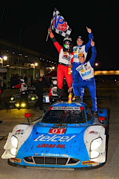 FORD ECOBOOST ENGINE POWERS CHIP GANASSI RACING WITH FELIX SABATES TO SEBRING 12-HOUR VICTORY