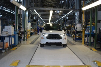 Ford Starts European Production Of The New Ecosport SUV To Meet Growing Customer Demand