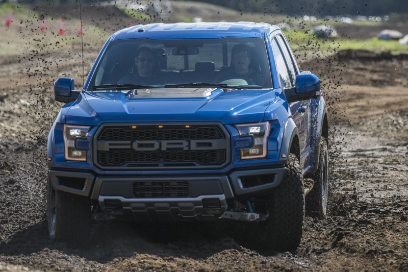 Ford F-150 Raptor Named 'Best Pickup' In The Northwest Outdoor Activity Vehicle Of The Year Mudfest
