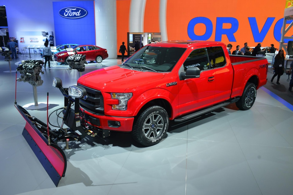 All New Ford F 150 Adds Tough New Snow Plow Prep Option Across All