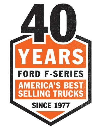 UNPRECEDENTED: FORD F-SERIES ACHIEVES 40 CONSECUTIVE YEARS AS AMERICA'S BEST SELLING TRUCK
