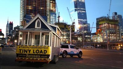 Ford F-Series Trucks To Tow 'Henry' And 'Clara' On Petite Retreats' Tiny House Cross-Country Road Trip