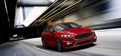 NEW FORD FUSION SPORT GIVES OWNERS OF GERMAN SEDANS 380 REASONS TO CHANGE THEIR LEDERHOSEN