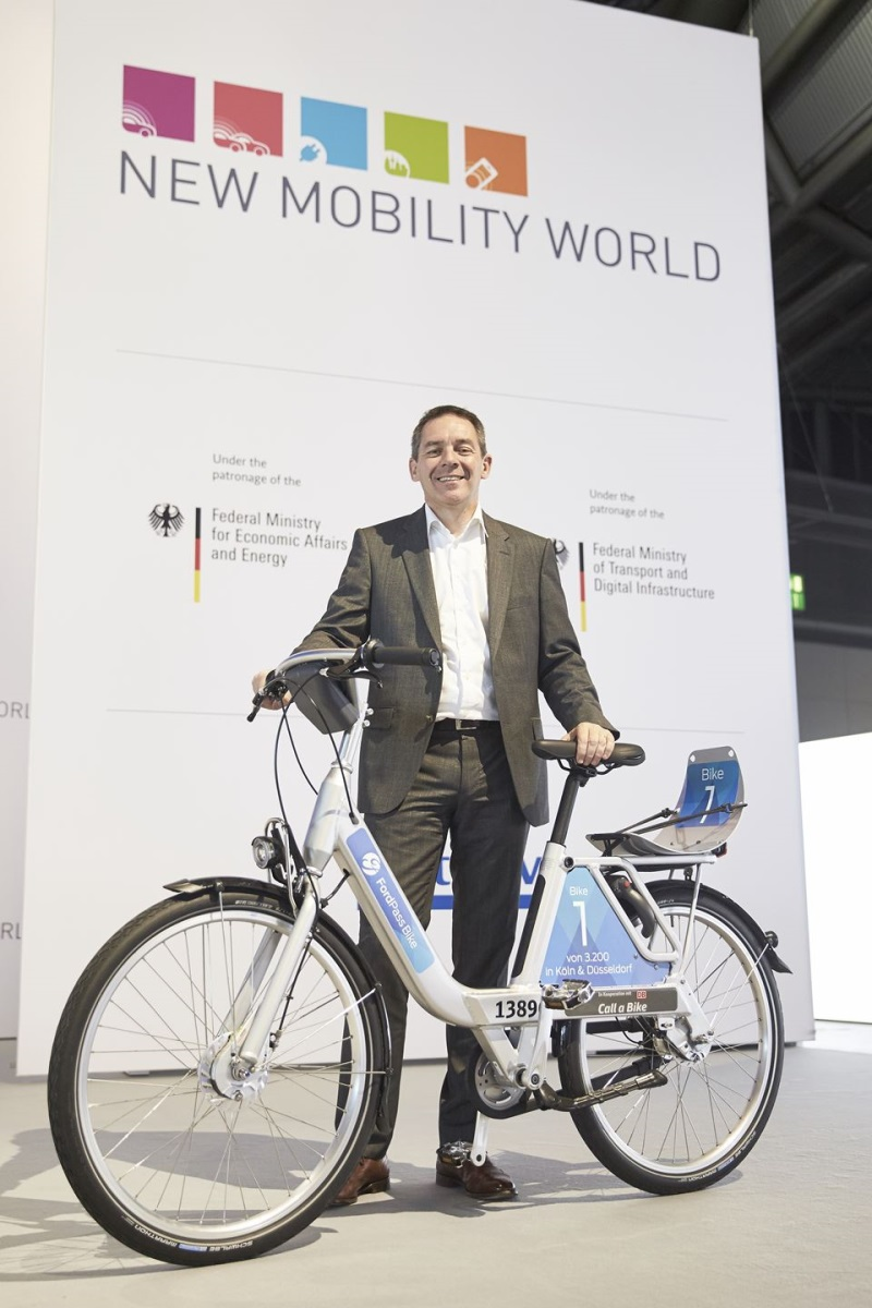 Ford Of Germany And Deutsche Bahn Connect Collaborate On German Bike Sharing Service