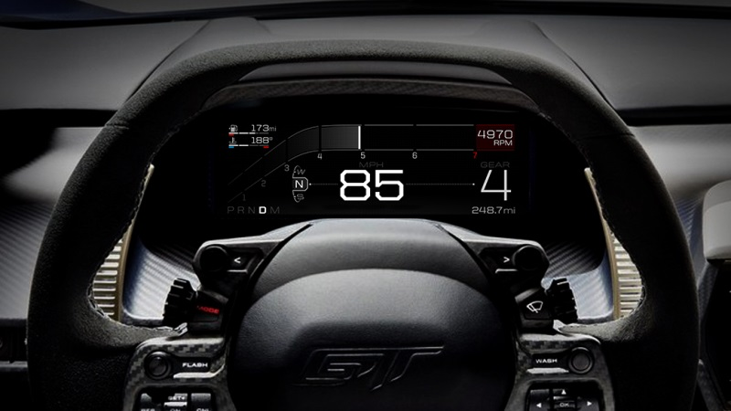 All New Ford Gt Supercar Delivers Five Drive Modes For Optimised Performance On Road And Track