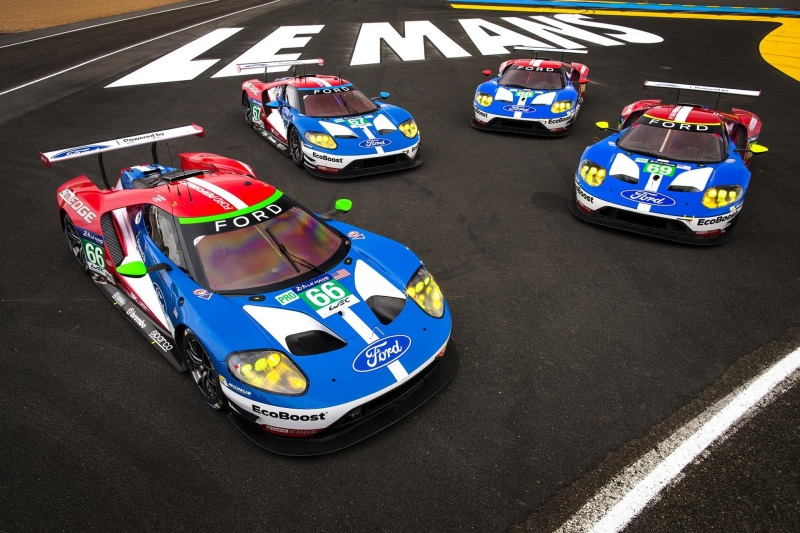 From Le Mans To Goodwood Ford Gt Race Car Heads Exciting Ford Performance Line