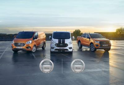 Double Honours For Ford With International Van Of The Year And International Pick-Up Award Victories