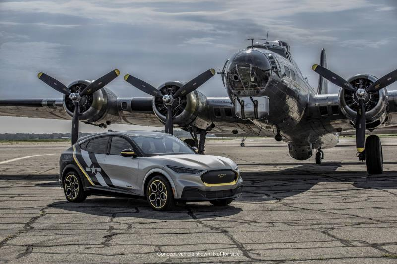 Ford Honors Women Airforce Service Pilots with Custom 2021 Mustang Mach-E at AirVenture Charity Auction