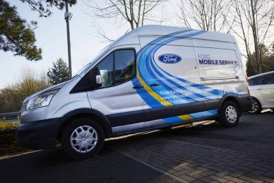 Service With A Mile: Ford Mobile Service Van Fleet Keeping Businesses On The Road To Grow By A Third