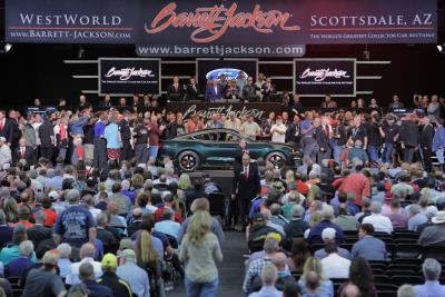 Sale Of 2017 Ford GT And 2019 Ford Mustang Bullitt Raises $2.85 Million For Charity At Barrett-Jackson Auction