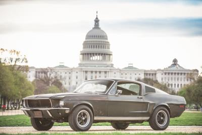 Iconic 1968 Ford Mustang From Steve Mcqueen Film 'Bullitt' To Be Celebrated On National Mall In Washington, D.C.