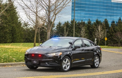 Ford Launches Its First Plug-In Hybrid Vehicle For Police And Government Customers