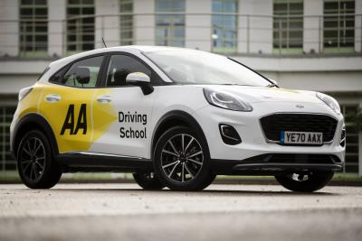 Puma Becomes Third Ford Offered To Learners By AA Driving School
