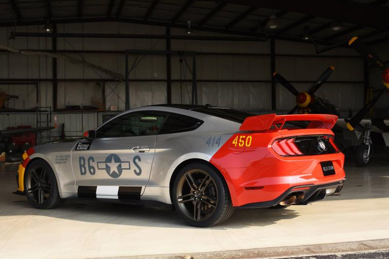 Ford, Roush Unveil One-Of-A-Kind 'Old Crow' Mustang GT To Be Auctioned For EAA Aviation Programs At Airventure 2019