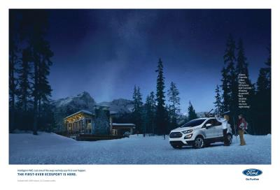 Ford Meets Growing Demand For SUVs With Entirely New Expedition, First-Ever Ecosport; Ad Campaigns Debut Tomorrow