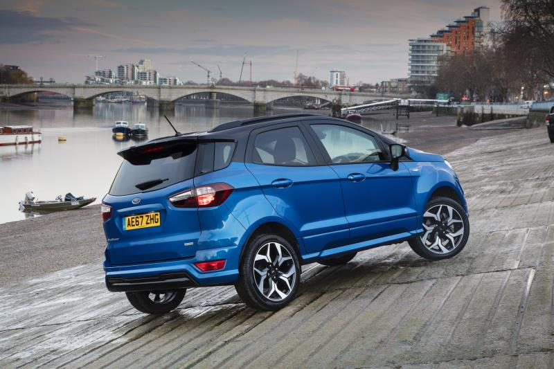 Ford SUVs Achieve Record-Breaking 259,000 Sales In Europe; Ecosport, Kuga And Edge Sales Up 21 Per Cent