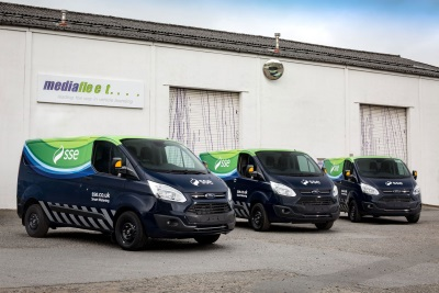 Ford Transit Custom Is The Smart Choice For SSE Meter Fitters