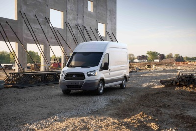 NEW ERGONOMIC AND TECH OPTIONS ENHANCE 2017 FORD TRANSIT