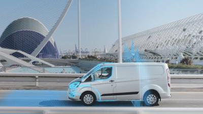 Plug-In Ford Transit Custom Hybrid Introduces Automatic Electric Mode To Support Cleaner City Air