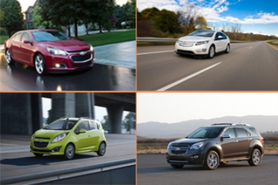 FOUR CHEVROLET MODELS ARE 2015 IIHS TOP SAFETY PICKS