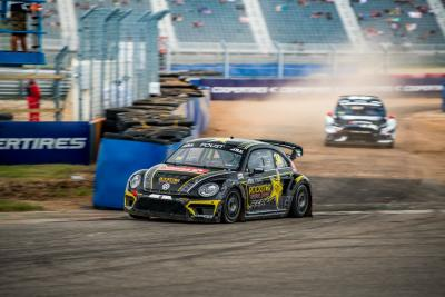 Tanner Foust Claims Race Victory And Scott Speed Wins His Fourth Consecutive Championship At Americas Rallycross Finale