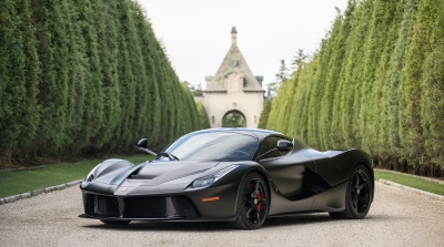 LAFERRARI CROSSING THE AUCTION BLOCK AT MECUM MONTEREY