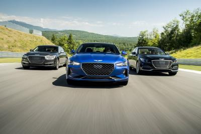 Led By Award-Winning G70 Luxury Sport Sedan, Genesis Sales Increase By Double Digits In 2019