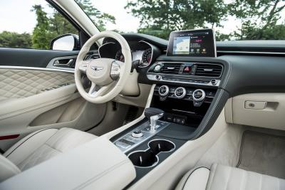 2020 Genesis G70 Named To Top 10 Interiors List By Autotrader Editors