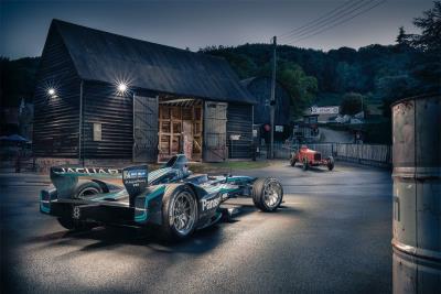GKN Driveline And Panasonic Jaguar Racing Break Electric Car Record At Shelsley Walsh