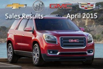 Double-digit Crossover and Truck Gains Drive Chevrolet, GMC, Buick and Cadillac Sales