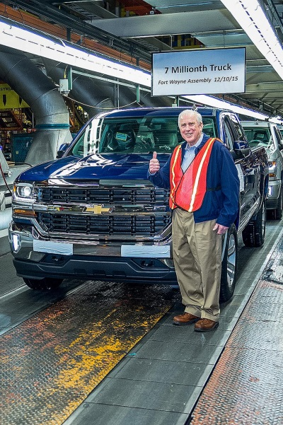 Gm Fort Wayne Assembly Builds 7 Millionth Truck Conceptcarz Com