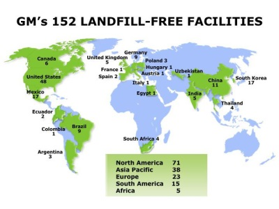 TRASH TALK: GM HAS RECORD YEAR FOR LANDFILL-FREE OPERATIONS