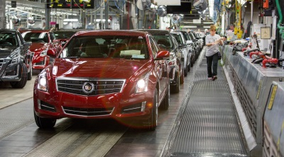 Gm 39 s lansing grand river assembly to add third shift and for Motor cars lansing mi