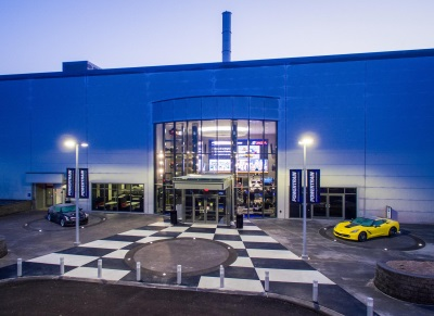 GM INAUGURATES NEW PERFORMANCE AND RACING CENTER