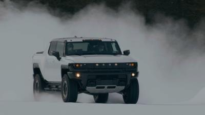 GMC Tests HUMMER EV in Sub-Zero Conditions, Announces HUMMER EV SUV Reveal Date