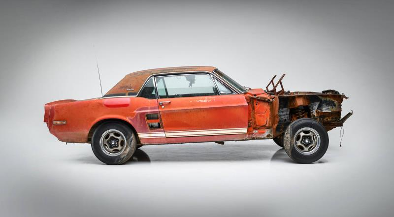 Little Red 1967 Ford Mustang Shelby Gt500