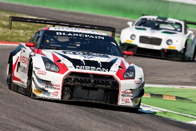 2013 GT ACADEMY WINNER MCMILLEN SOLID IN BLANCPAIN SERIES DEBUT AT MONZA