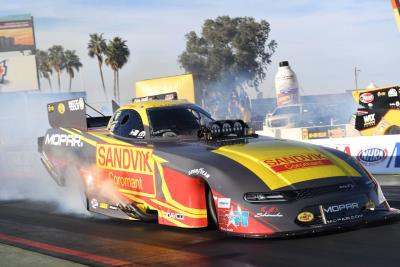 Hagan Captures Funny Car Win In Arizona, Scores Historic First Victory In Mopar Dodge Charger SRT Hellcat Body