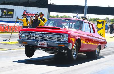 Hagan Runs Mopar Dodge Charger SRT Hellcat Funny Car To First Ever Final-Round Appearance At Indy